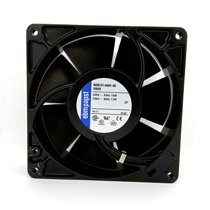 EBMPAPST W2K121-AA01-40 AC220V 18W axial radiator cooling fan