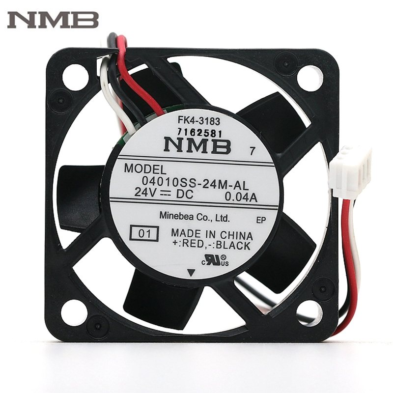 NMB 04010SS-24M-AL 24V 0.04A 40mm axial mini cooling fan