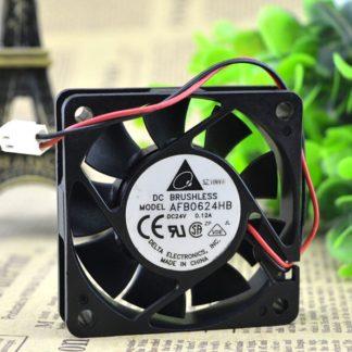 Delta AFB0624HB 60*60*15 24V 0.12A industrial converter cooling fan