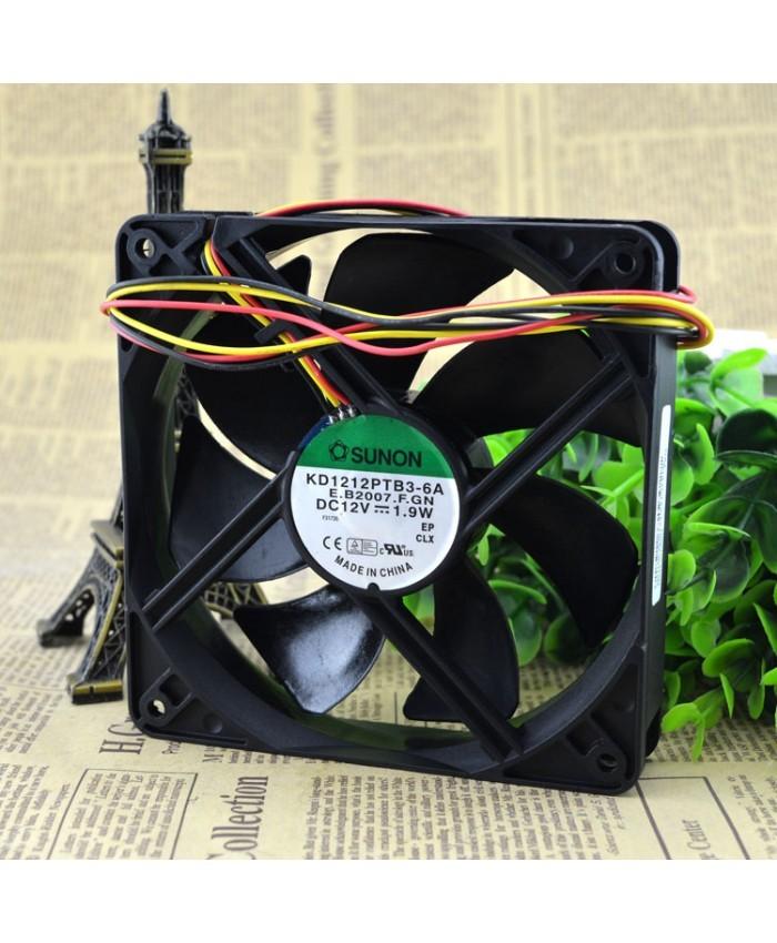 SUNON KD1212PTB3-6A E.B2007.F.GN DC12V 1.9W cooling fan