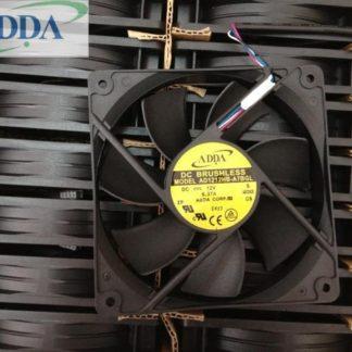 ADDA AD1212HB-A7BGL DC12V 0.37A 4wire PWM  4-wire server cooling fan