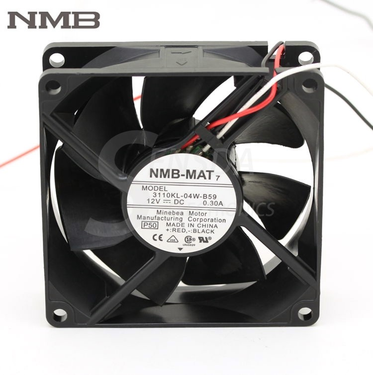 NMB 3110KL-04W-B59 DC12V 0.30A 3wire inverter axial Cooling Fan