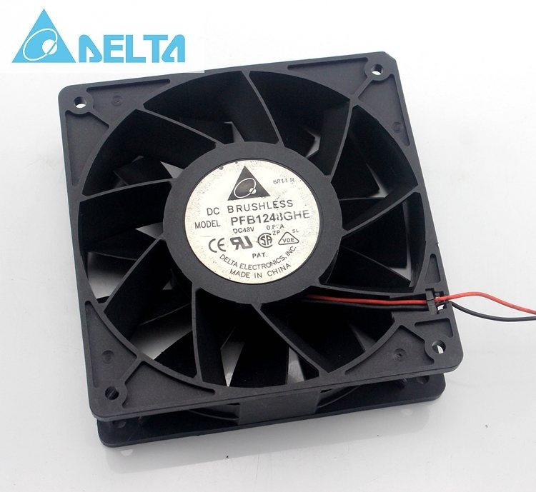 Delta PFB1248GHE 48V 0.82A 12CM  waterproof axial case cooling fan