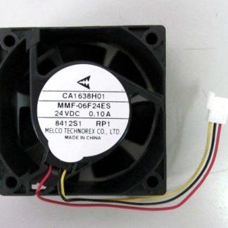 MELCO TECHNOREX   CA1638H01 MMF-06F24ES-RP1  24VDC 0.10A  Fan