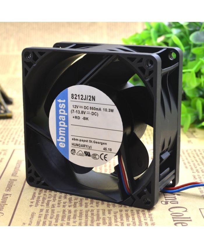 EBMPAPST 8212J/2N 12V 10.3W Cooling fan