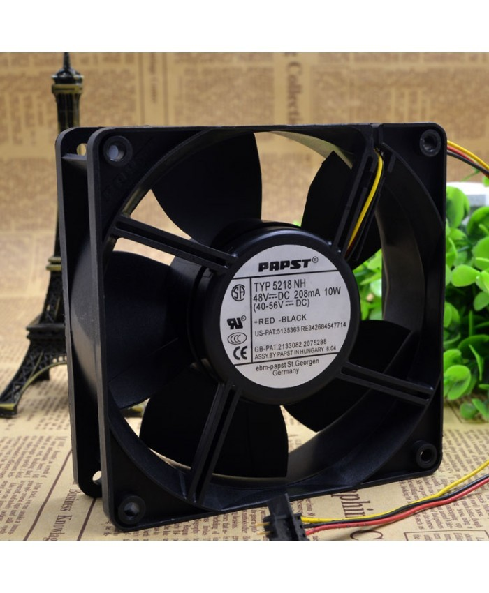 EBMPAPST TYP 5218NH 48V 10W cooling fan