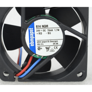 ebmpapst TYP 614NGM 24V 1.7W cooling fan