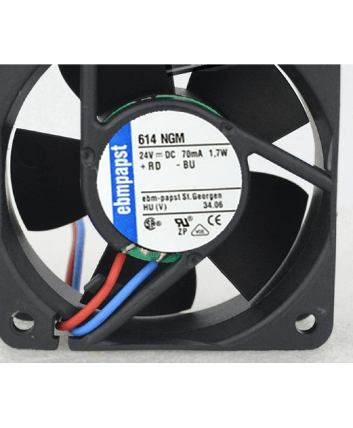 ebmpapst TYP 614NGM 24V 1.7W cooling fan