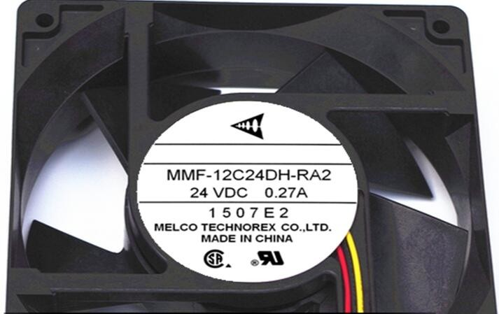 MMF-12C24DH-RA2    12038 12CM 24V 0.27A   control   speed   fans