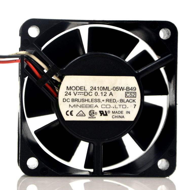 2410ML-05W-B49  DC24V 0.12A inverter cooling fan