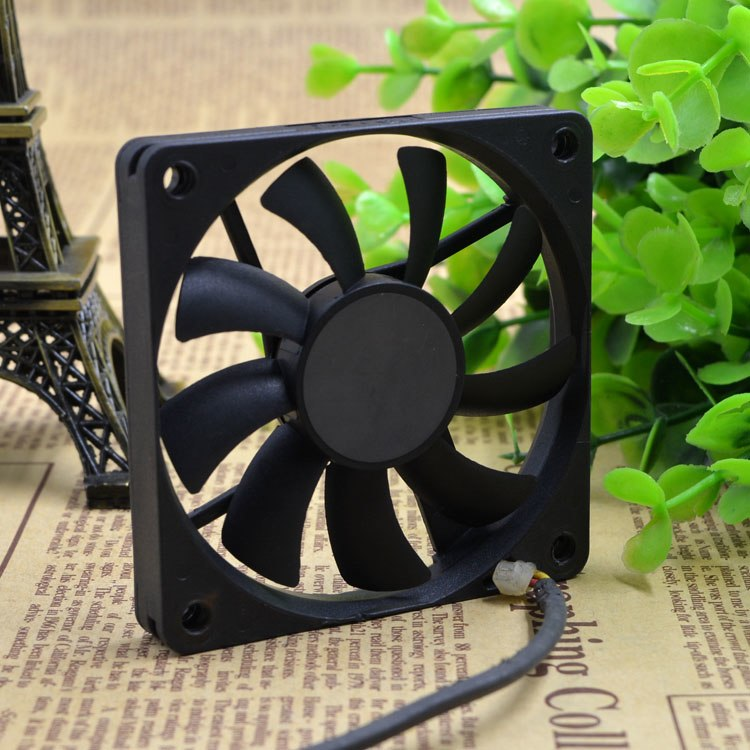 Y.S.TECH FD127010MB-H 12V 0.A speed ultra-thin cooling fan