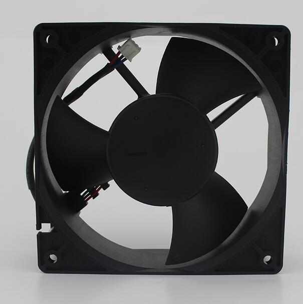 Delta EFB1224HHE DC24V 0.30A 3-line Double Ball Cooling Fan