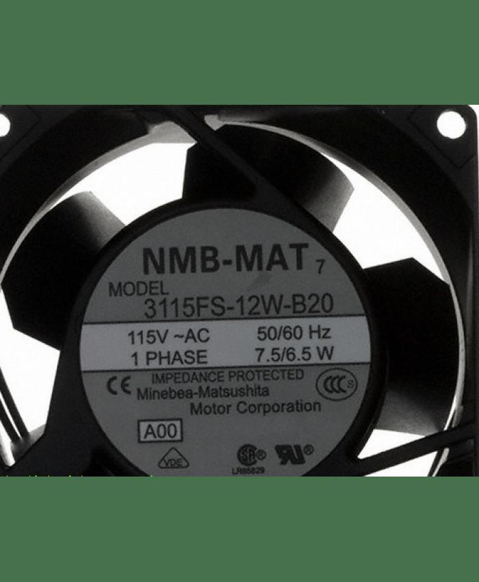 NMB 3115FS-12W-B20 115V 7.5/6.5W 8cm cooling fan