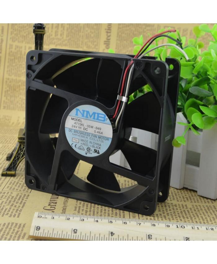 NMB-MAT 4715KL-05W-B49 DC24V 0.46A cooling fan