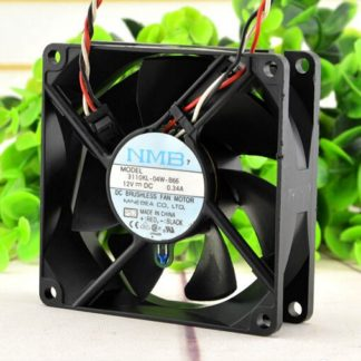 NMB 3110KL-04W-B66 DC12V 0.34A Double ball bearing fan