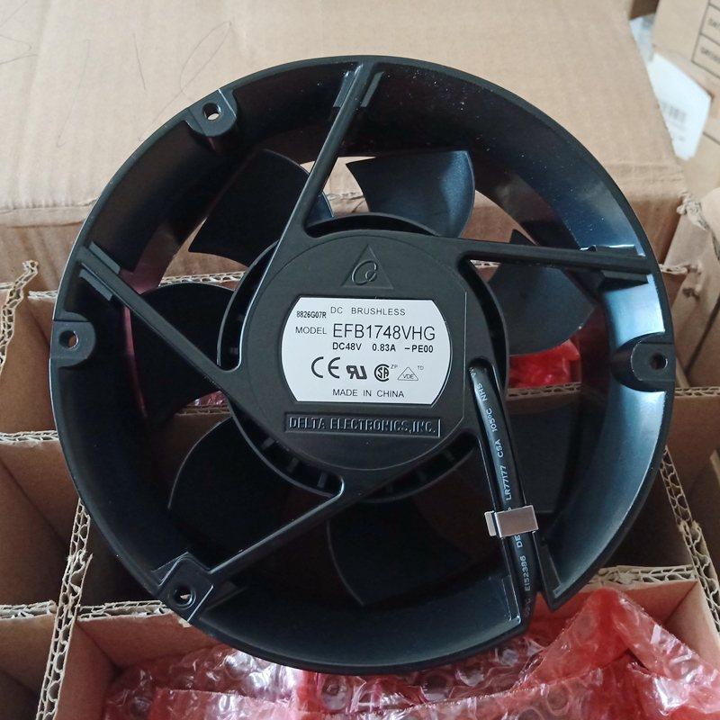 Delta EFB1748VHG DC48V 0.83A 2Lines Inverter axial Cooling Fan