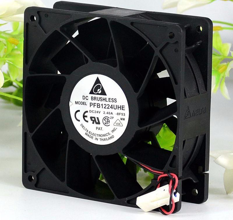 Delta PFB1224UHE DC24V 2.40A inverter cooling fan