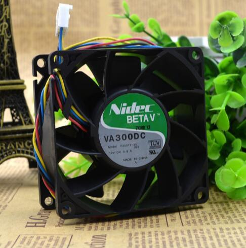 Nidec BETAV VA300DC V35072-35 DC12V 0.9A  4 Wire Cooling Fan