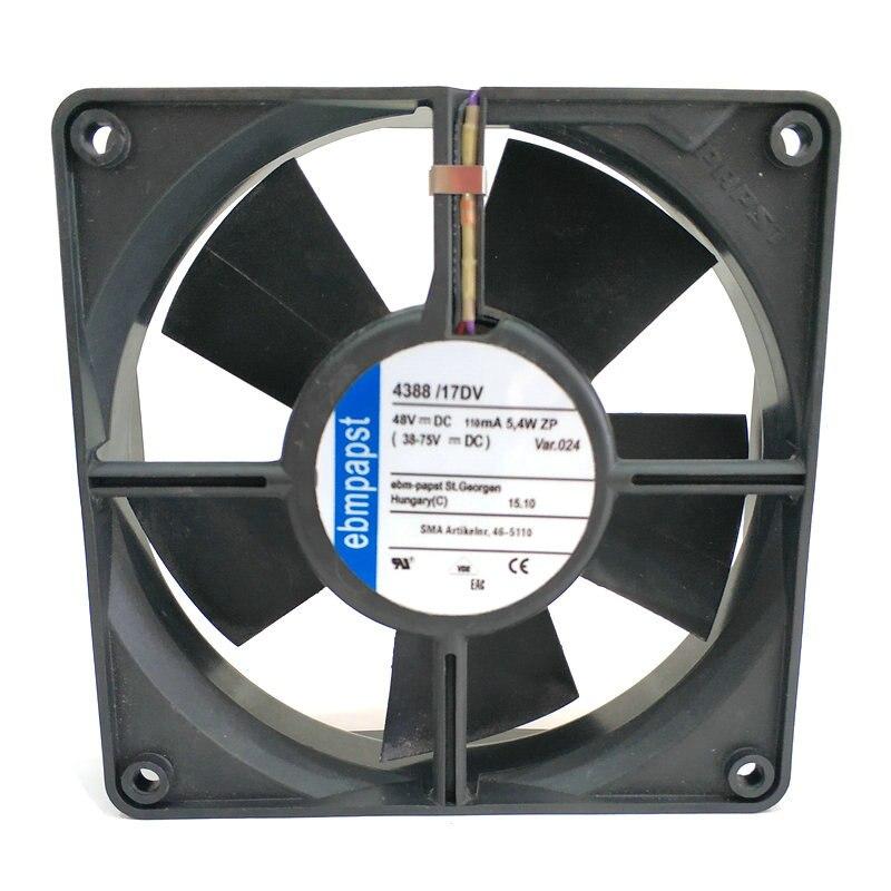 EBM Papst 4388/17DV 48V 110mA 5.4W cooling fan