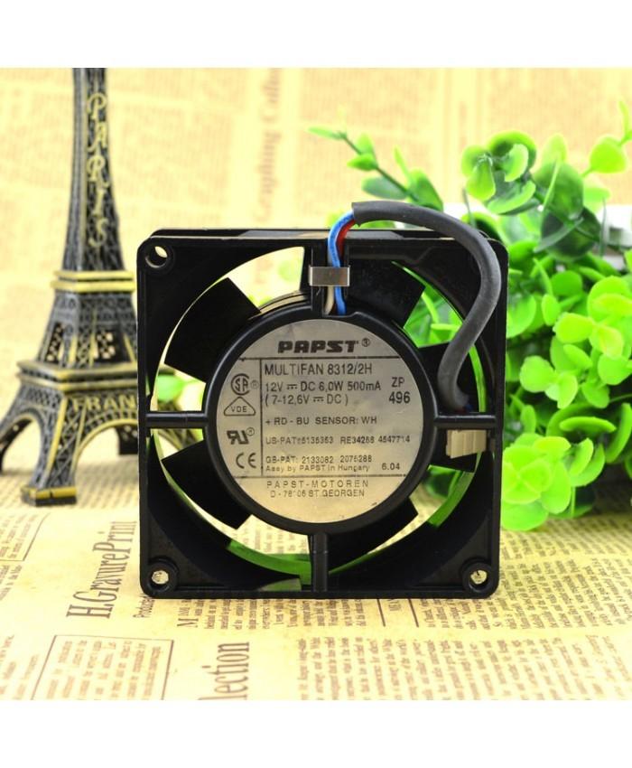 PAPST MULTIFAN 8312/2H 12V 6W 0.5A cooling fan