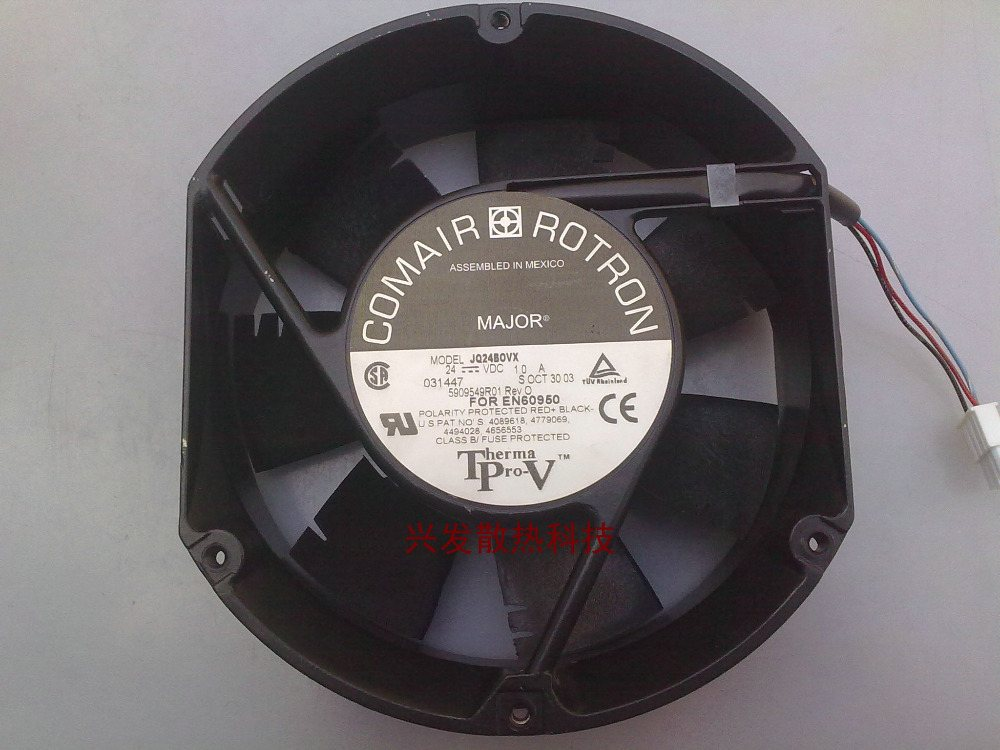 JQ24BOVX  24v 1.0A 172 * 172 * 51MM inverter cooling fan