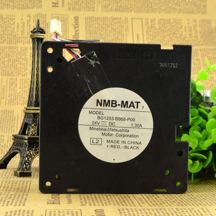 NMB BG13-B058-P00 12CM 24V 1.30A Blower cooling fan
