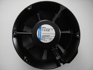 EBMPAPST  TYP 6224N   24 VDC 18 w 750 ma 172 * 51 mm aluminum frame fan
