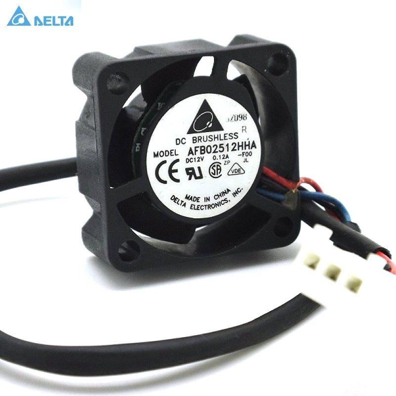 Delta AFB02512HHA 12V 0.12A cpu cooler heatsink axial Cooling Fan