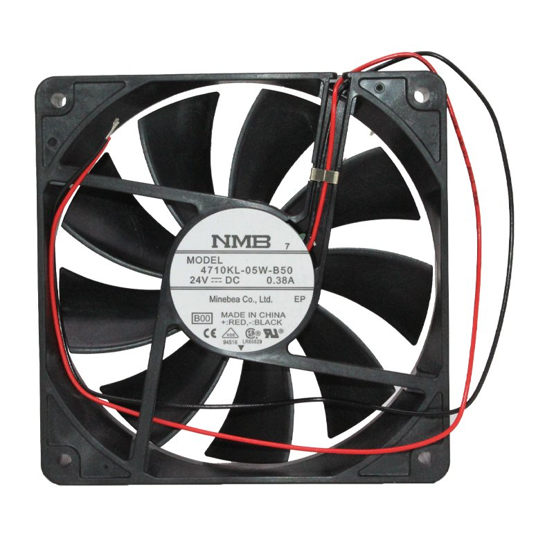 NMB 4710KL-05W-B50 DC12V 0.38A Double ball bearing High-end inverter cooling fan