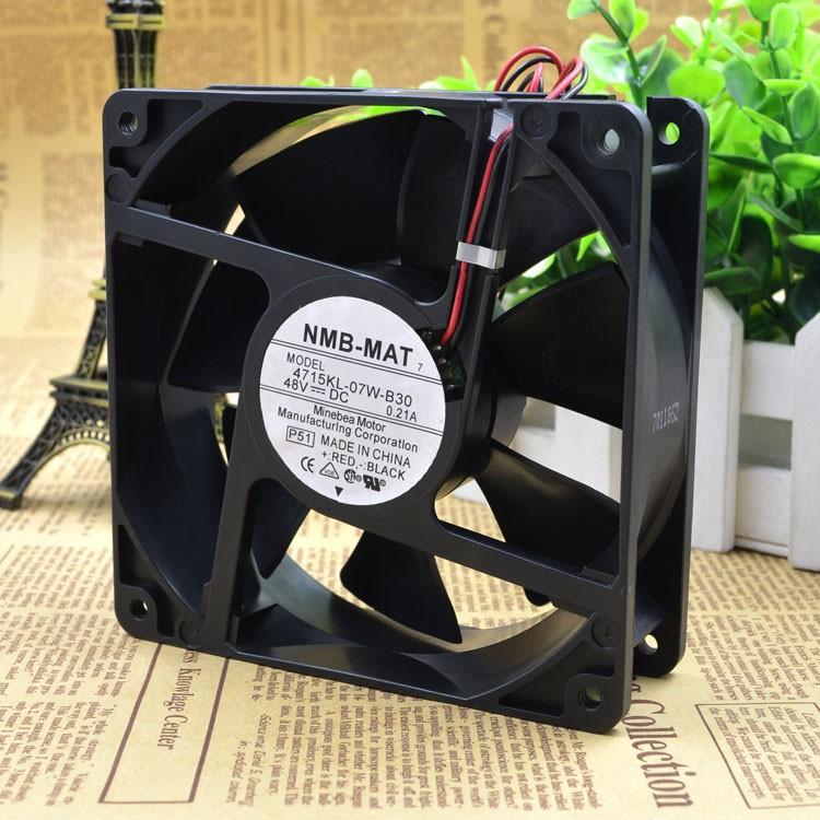 nmb 4715KL-07W-B30 DC48V 0.21A cooling  fan