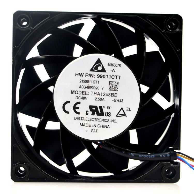Delta THA1248BE 48V 2.50A ultra violence aluminum frame fan