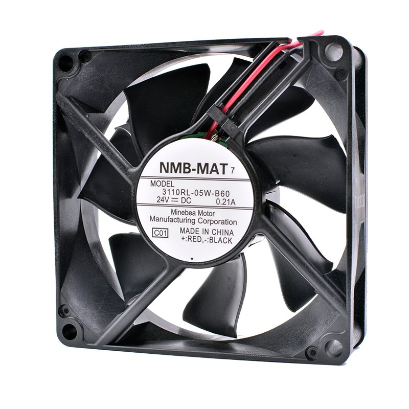 NMB 3110RL-05W-B60 8cm 24V 0.21A inverter cooling fan