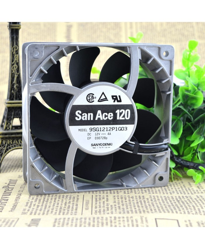 Sanyo 9SG1212P1G06 12CM 12038 12V 4A violence fan