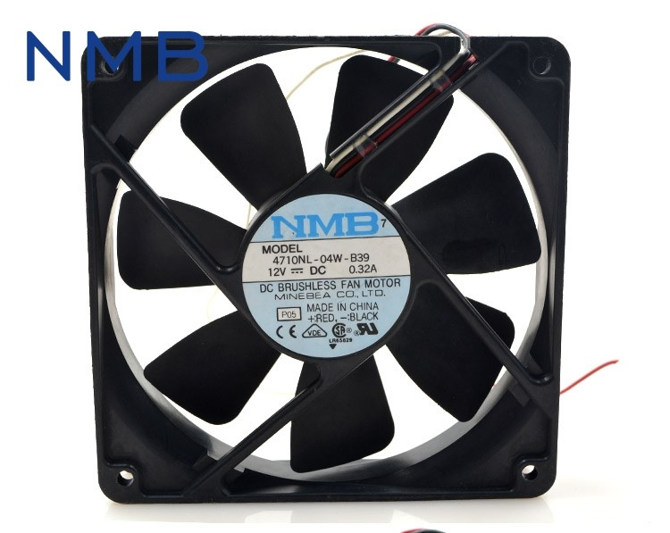 NMB  4710NL-04W-B39 DC12V 0.32A Computer Blower Cooling Axial Fan