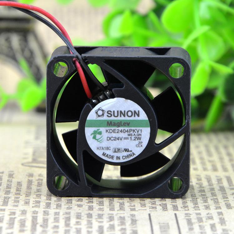 SUNON maglev KDE2404PKV1 4CM 24V 1.2W power supply axial cooling fan