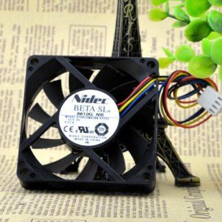 Nidec  U70R12MS1BB-57T02  7CM 12V 0.11A 4wire fan