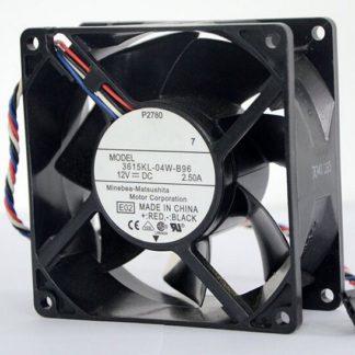 NMB 3615KL-04W-B96 92mm*92mm*38mm 12V 2.50A  four wire fan