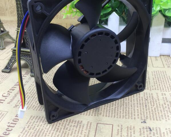 AVC DATA38B8U 48V 0.54A 4-wire industrial server cooling fan