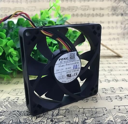 PV801512MSPF0A 12V 0.40A 8015 8cm 3line large air volume fan