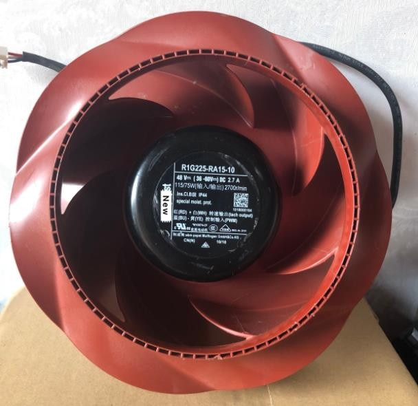 ebmpapst R1G225-RA15-10 48V 115W Centrifugal cooling fan