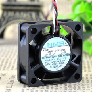 NMB 1606KL-04W-B59 12V 0.11A 40*40*15MM ball axial flow fan