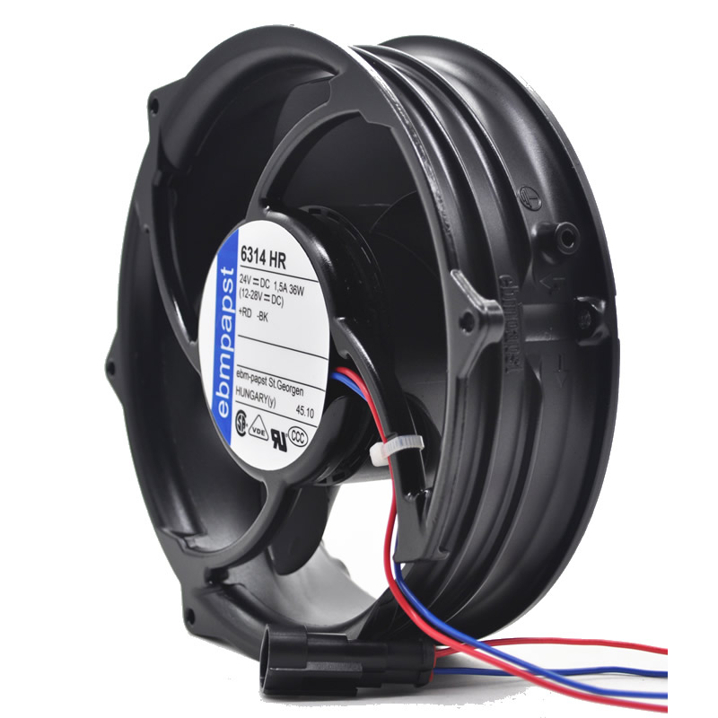Ebmpapst 6314HR 24V ABB inverter axial cooling fan
