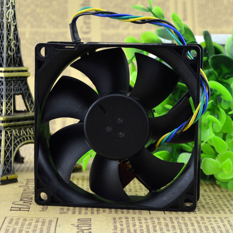Foxconn PVA080G12Q P01-AD DC Brushless Fan 12V 0.65A  100mm 80x80x25mm Server Square Cooling Fan