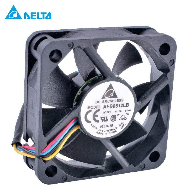 DELTA AFB0512LB  50mm 12V 0.11A Double ball bearing  cooling fan