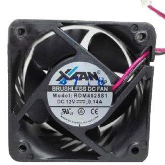 XFan RDM4025S1 DC12V 0.14A 40x40x25mm 2Pin 2wire Cooling Fan