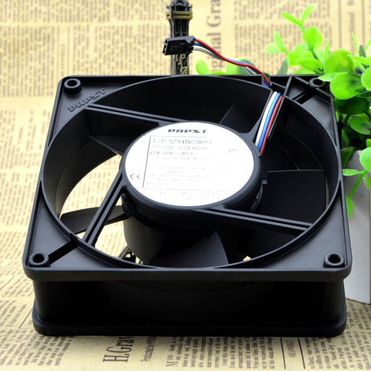 PAPST TYP 5214N/28HHI 27V 12.2W 450mA  127mm axial fan