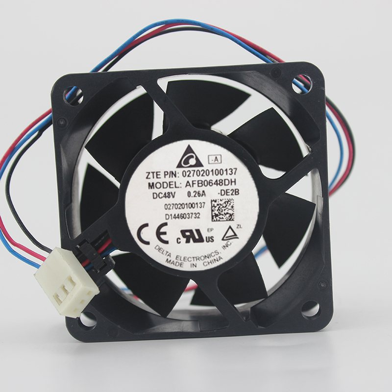 AFB0648DHDE2B 48V 0.26A large air volume cooling fan
