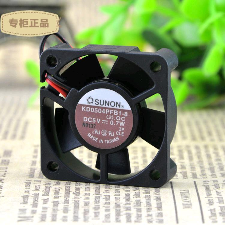 SUNON KD0504PFB1-8 5v 0.7W 2line ball bearing fan
