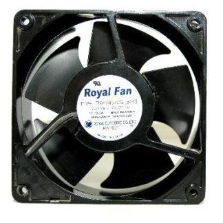 ROYAL FAN TMHS457CG 12CM 230v Full Metal cooling fan