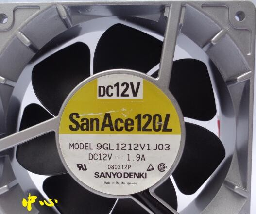 SANYO 9GL1212V1J03/J04 12cm 1.9A cooling server fan